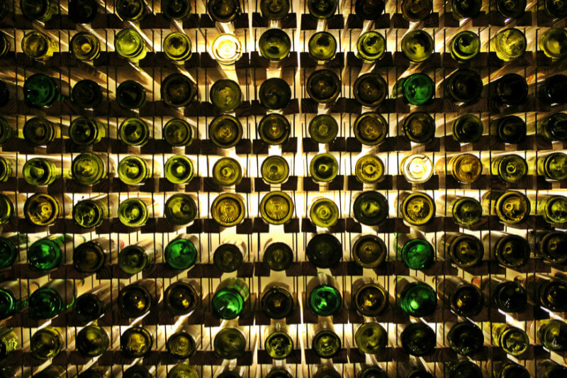 english wine bottles
