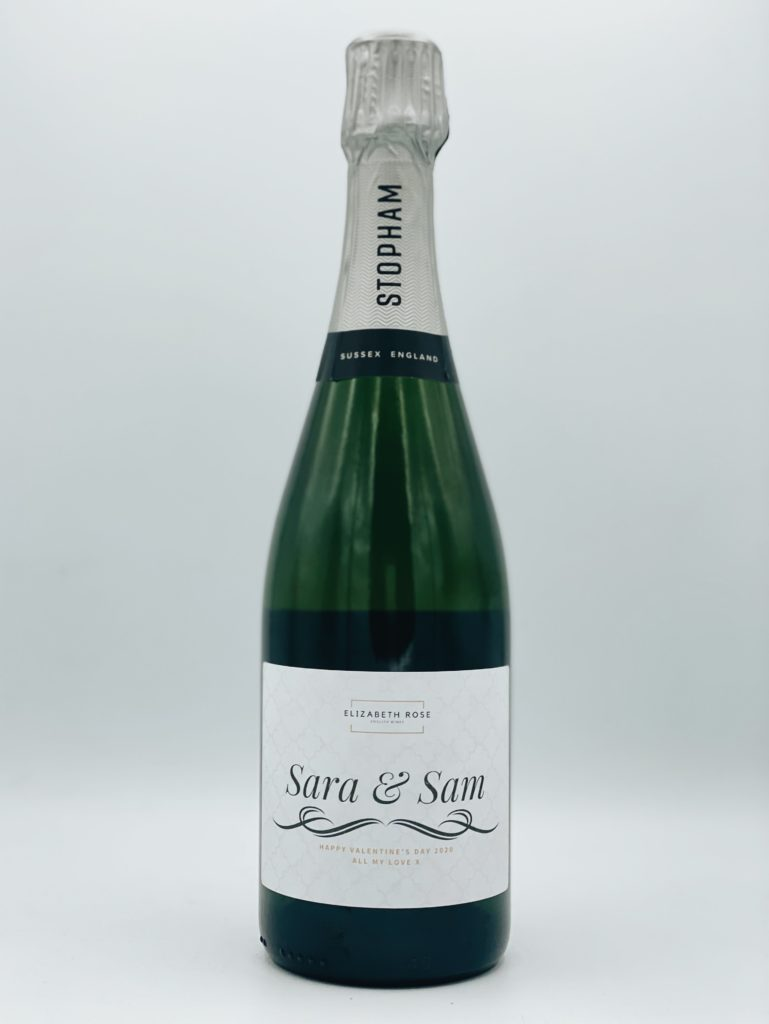 Personalised Bottle of Stopham Estate Brut Prestige
