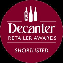 SHORTLISTED decanter award