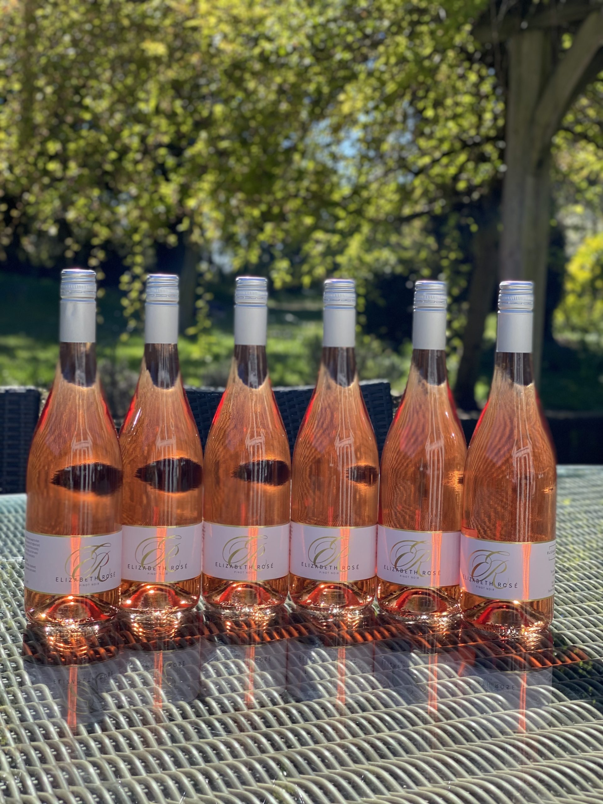 A case of the best English Rose wine